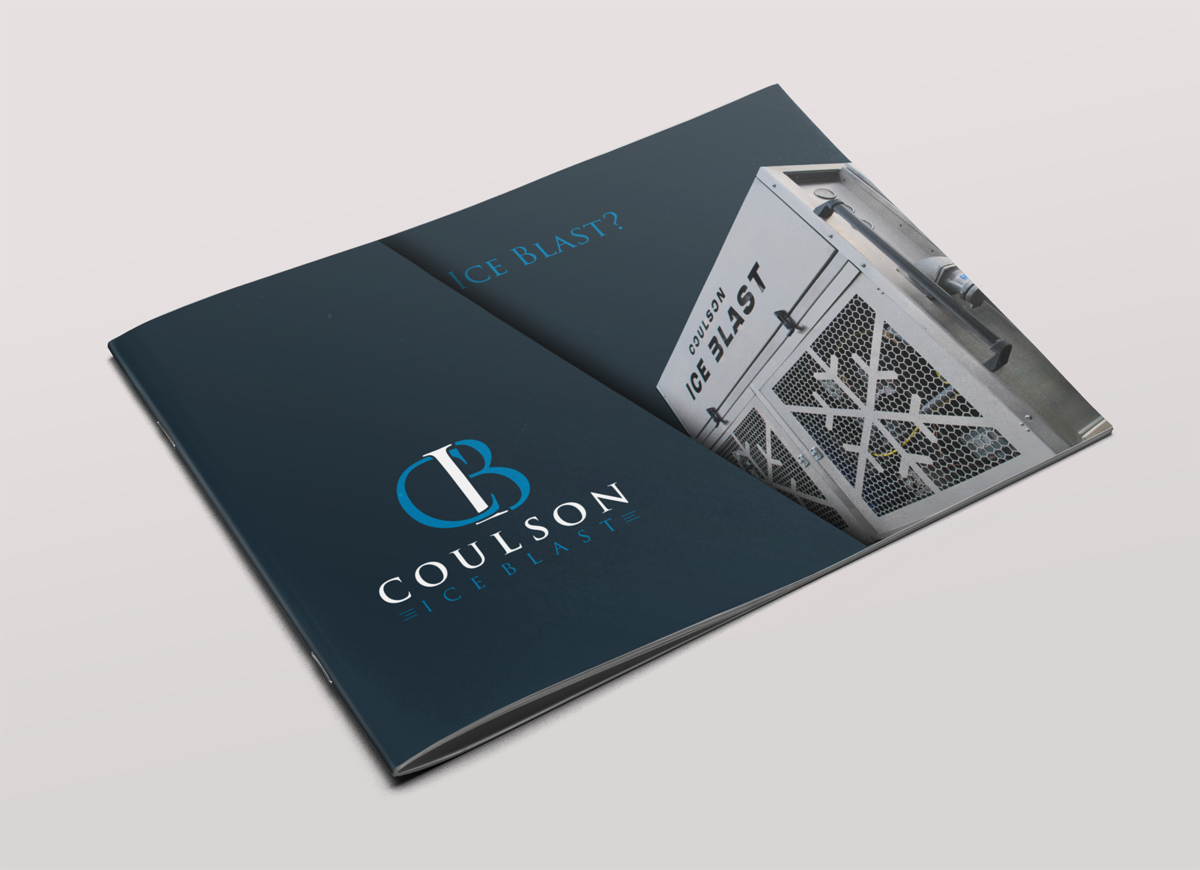 upmarket modern automotive brochure design for a company by
