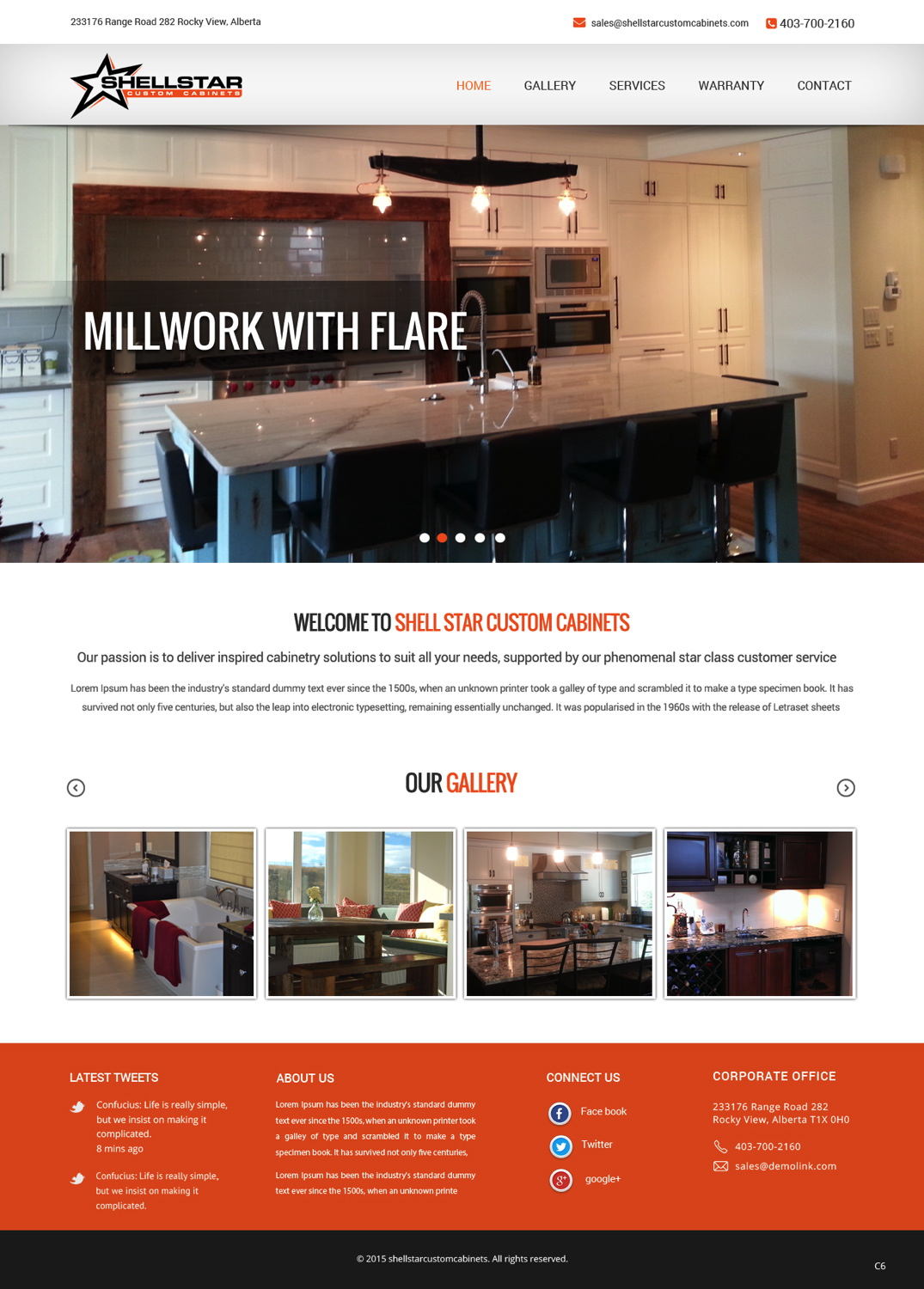 108 Serious Elegant Home Improvement Web Designs For A Home Improvement Business In Canada