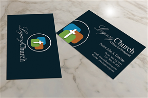 most holy awesome pastor john business card design by creativmindsja - Pastor Business Cards