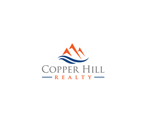 modern serious it company logo design for copper hill realty by