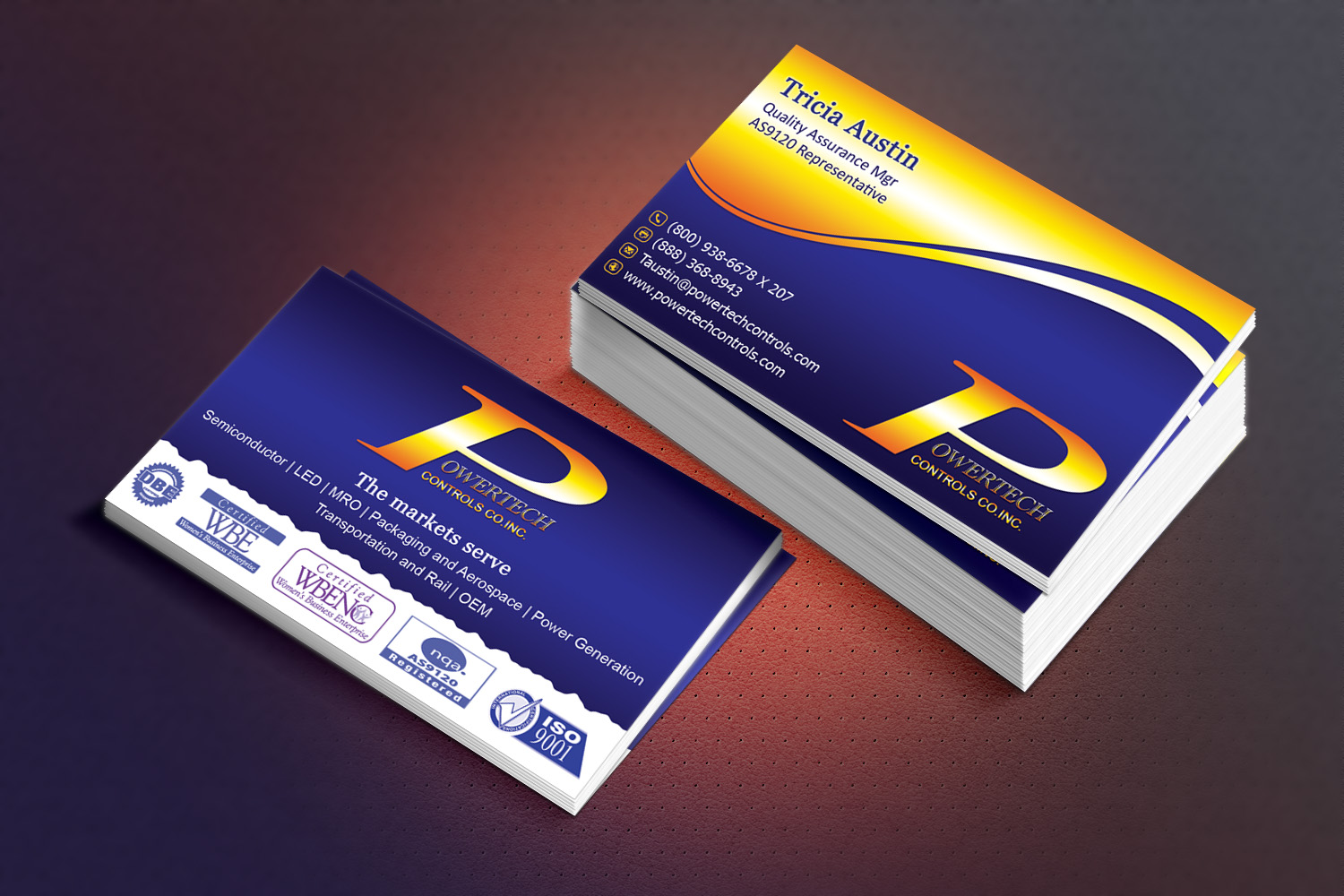 66 business card designs business business card design project for business card design by sandaruwan for this project design 5679625 reheart Image collections