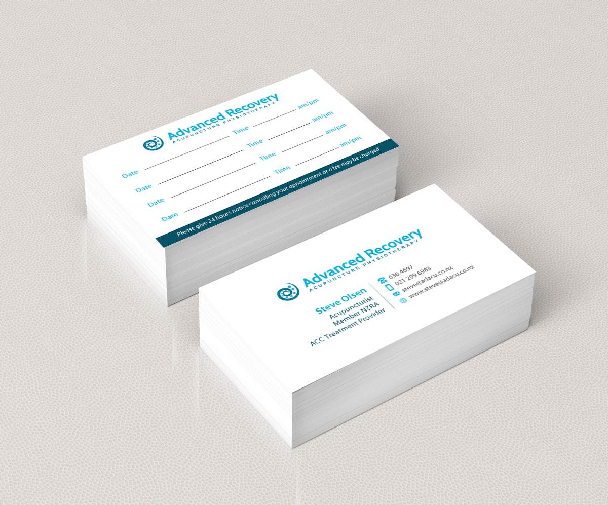 Modern, Professional, Clinic Business Card Design for a Company by ...