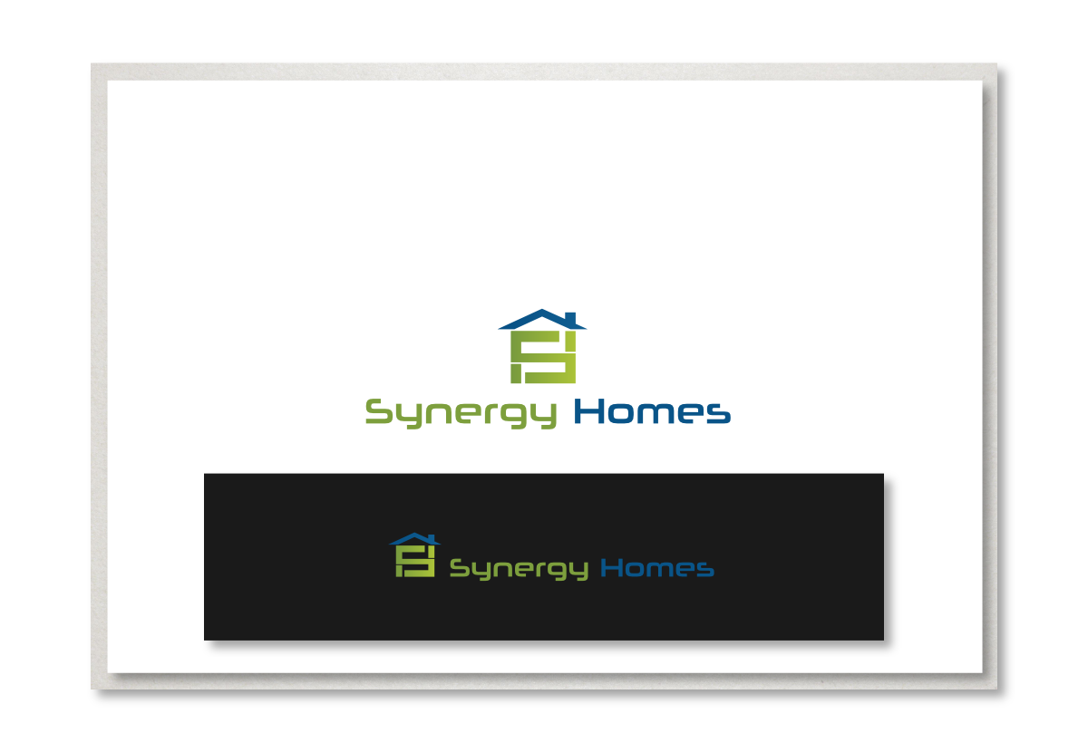 Professional serious building logo design for synergy for Professional building designer