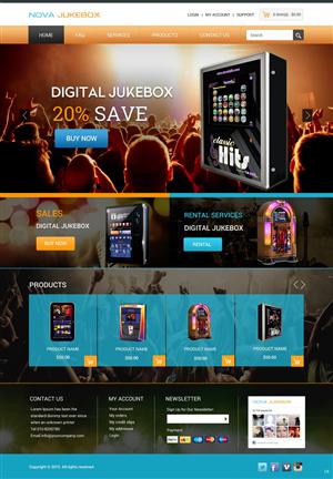 Web Design by pb - Custom Made Digital Jukebox sales and rental we ...