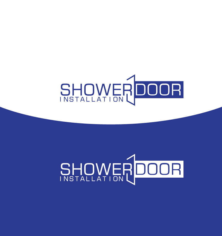 Bold Playful Industry Logo Design For Shower Door Installation By