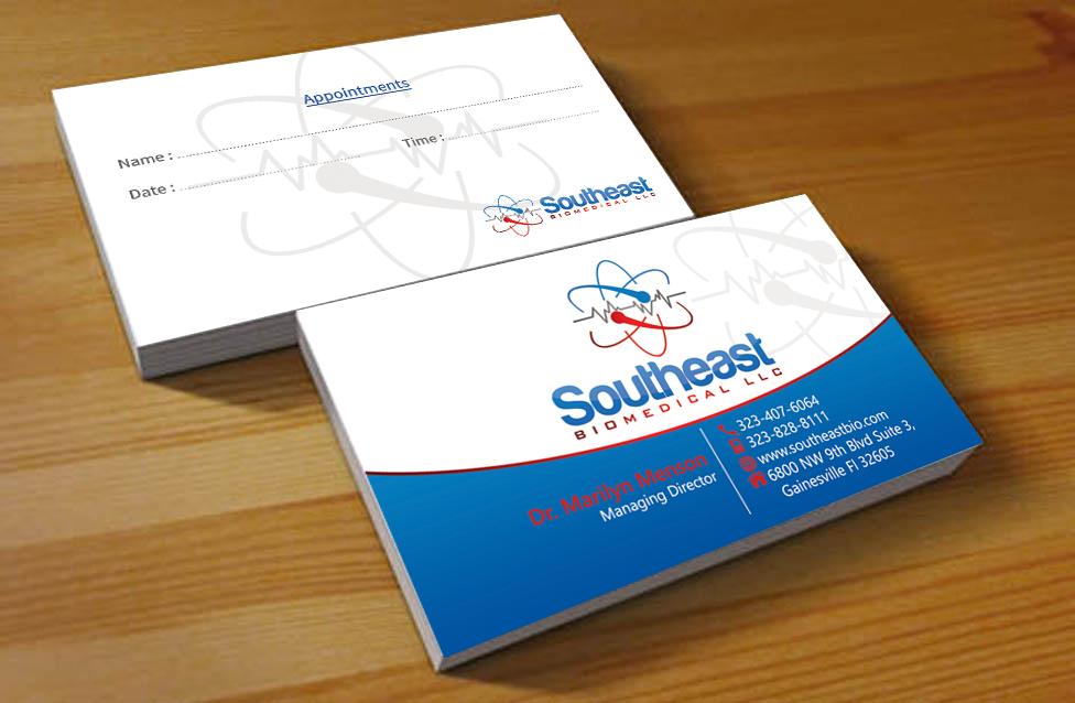Elegant, Playful, Medical Business Card Design for Southeast ...