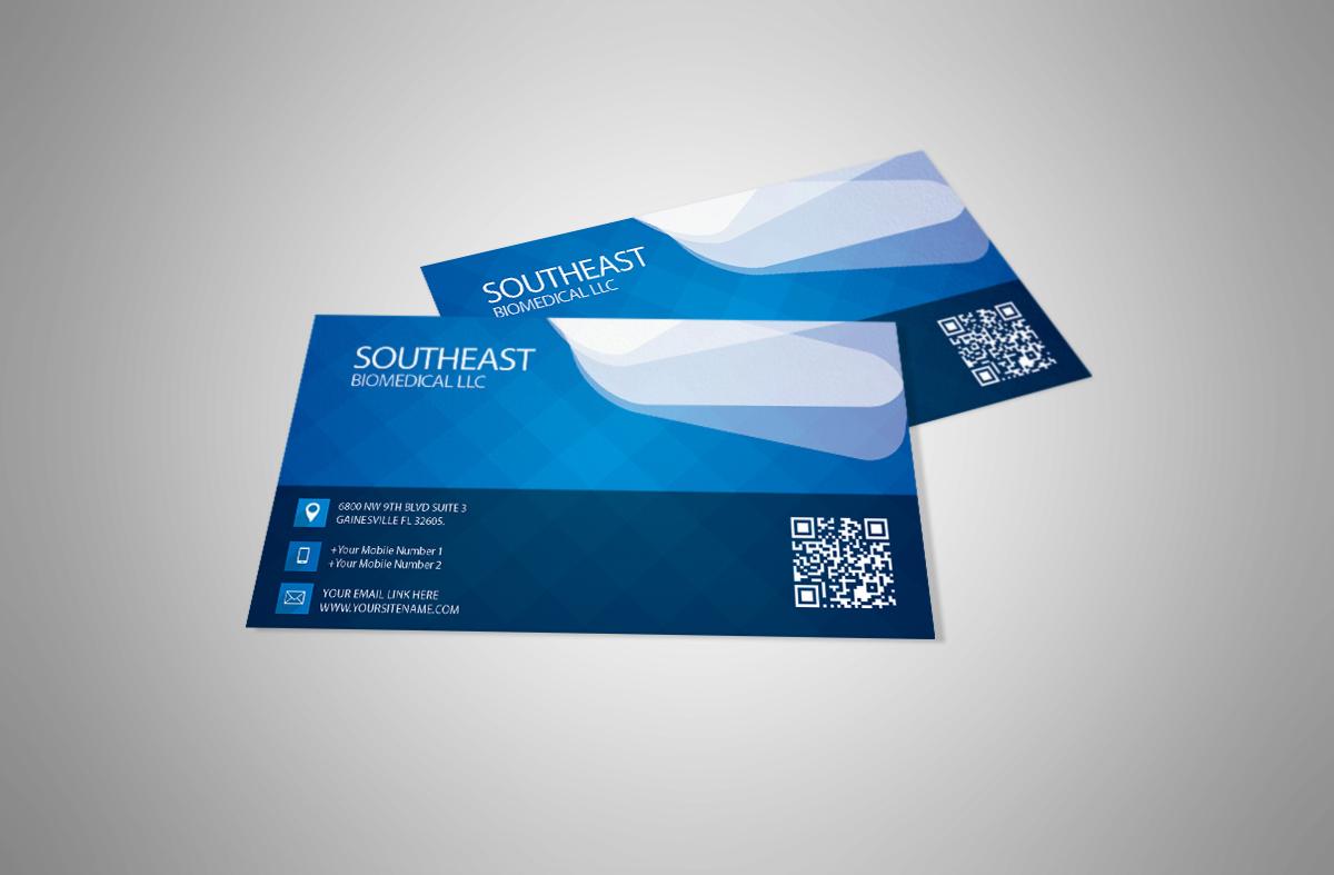 37 elegant business card designs medical business card design business card design by lakmallala design chathuramax for southeast biomedical llc design colourmoves