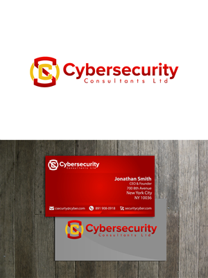 69 professional logo and business card designs security logo and logo and business card design by btibri for cybersecurity consultants ltd design colourmoves
