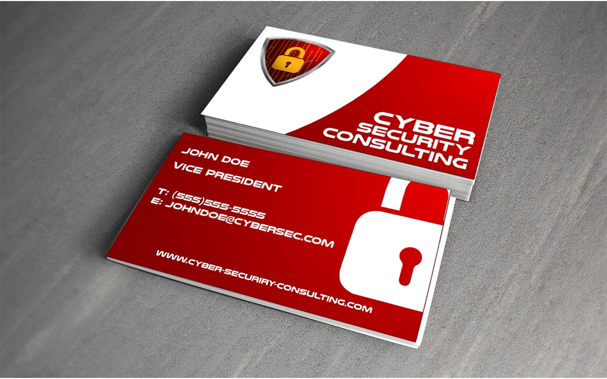 Professional, Modern, Security Logo and Business Card Design for ...