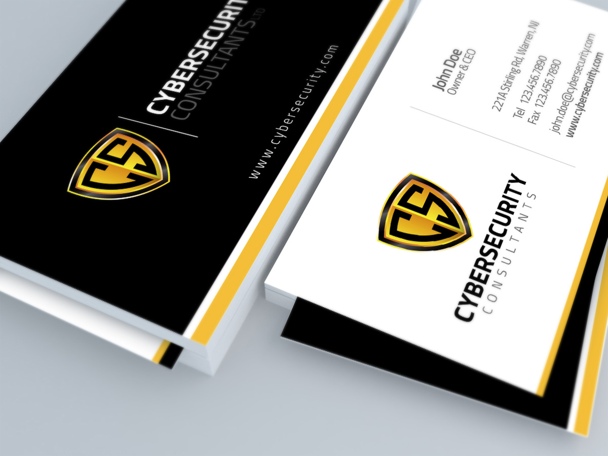 professional modern logo and business card design for