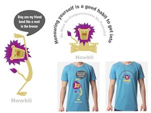 T-shirt Design by Syd Aitken-Ballard  - Creative, Fun and Inspirational Tshirts Needed  ...