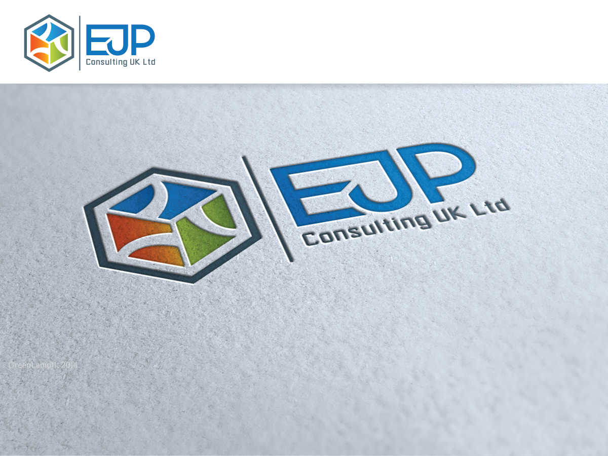 Professional colorful financial logo design for ejp for Design consultancy uk