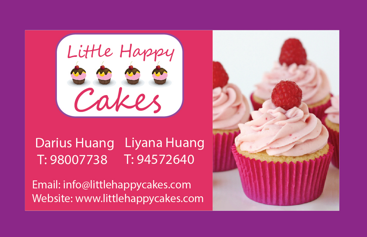 Modern, Personable, Bakery Business Card Design for Little Happy ...