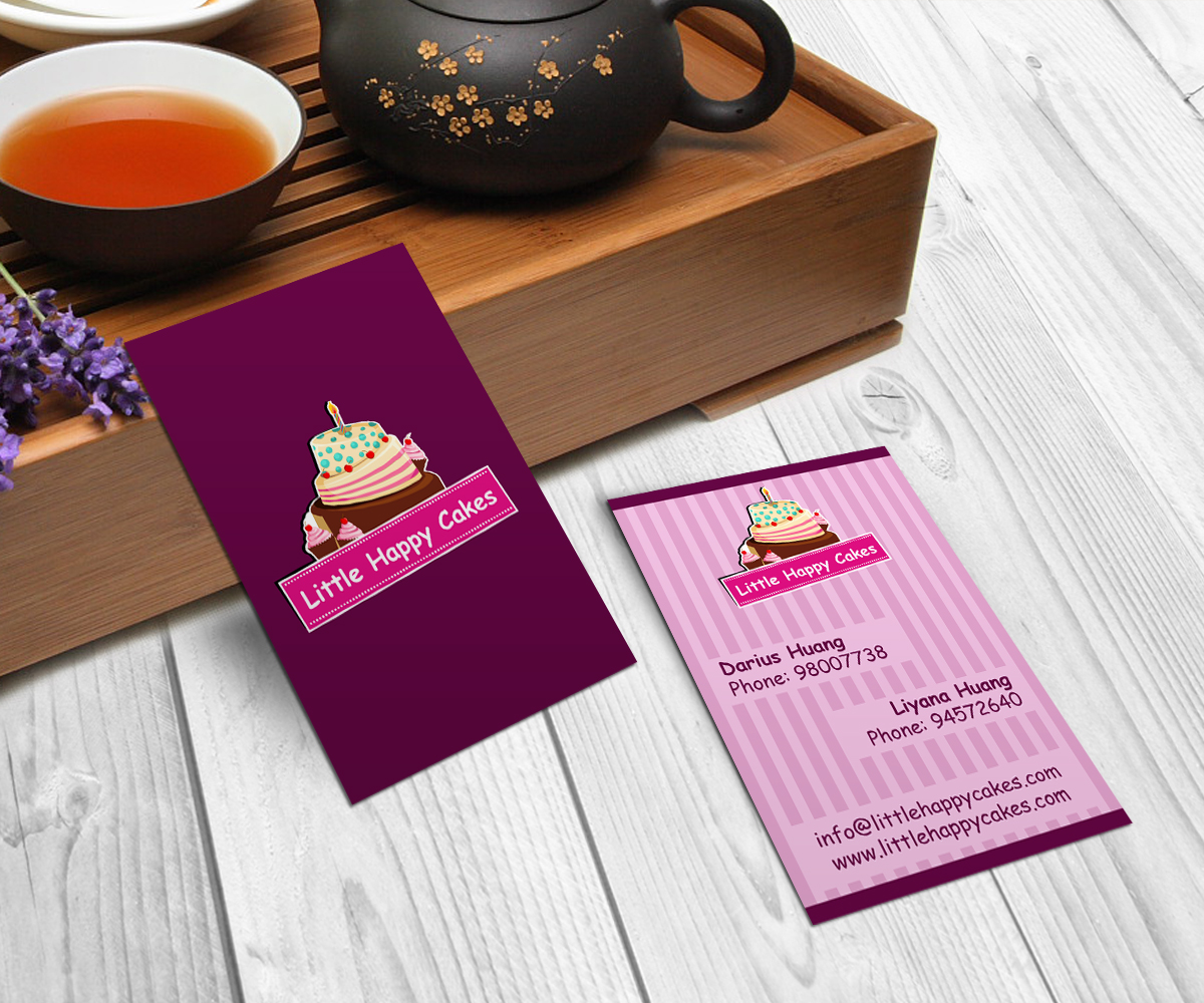 Design De Carte Visite Par KhaY Pour Little Happy Cakes