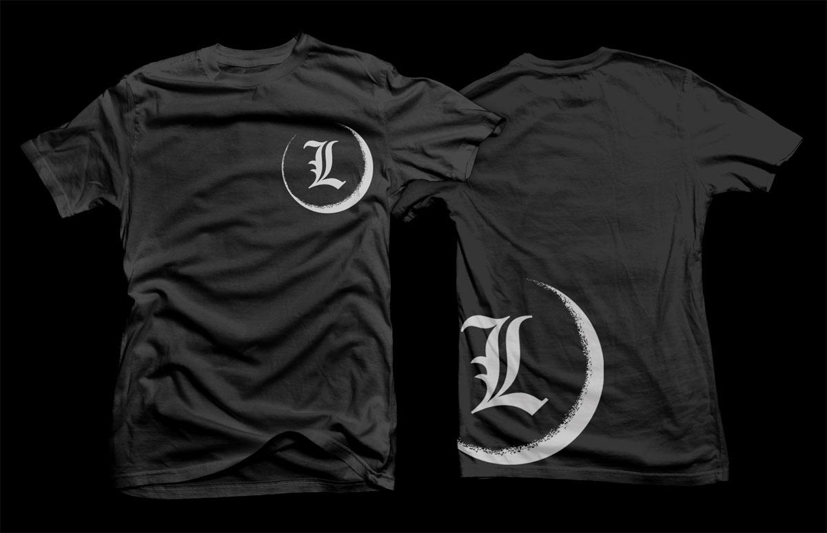 elegant serious t shirt design for leonardo sciolis by d With t shirt letter design