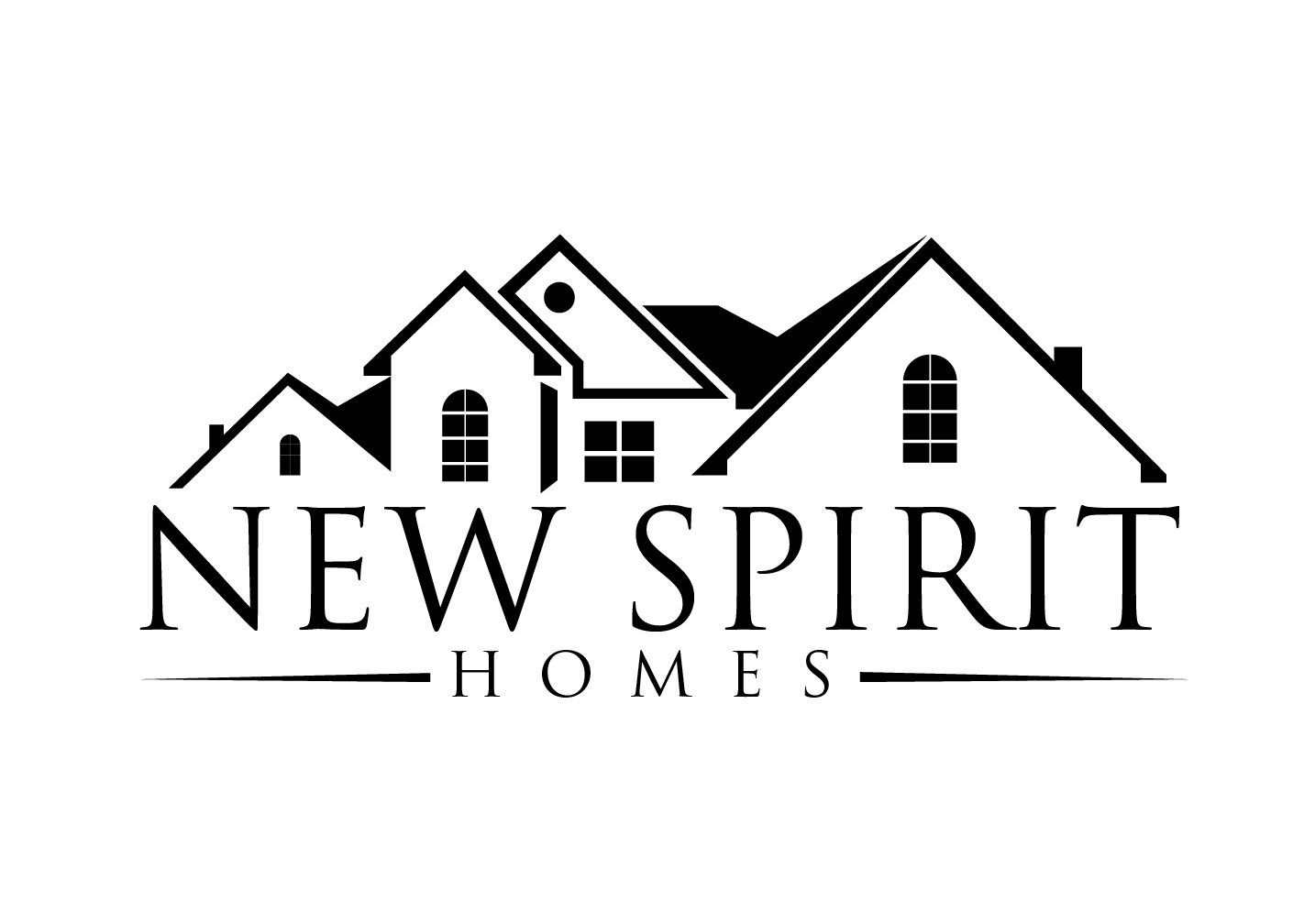 It Company Logo Design for New Spirit Homes by hih7 | Design #5654321
