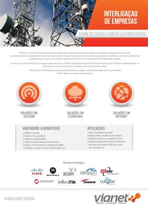 Brochure Design by JCR - Brochure Re-design for Telecom / IT Company