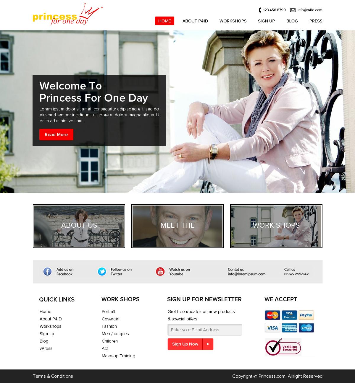 Feminine Elegant Landscape Web Design For Guido Karp Photography By Om Design 5672314