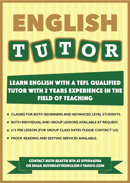 Tutoring Flyer Flyer Design Design Submitted To Private English