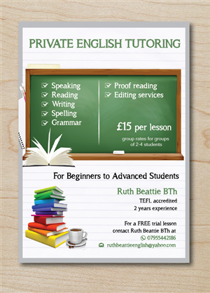 30 Bold Serious Tutoring Flyer Designs for a Tutoring business in ...