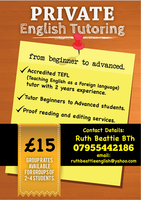 bold serious tutoring flyer design for a company by extra mile