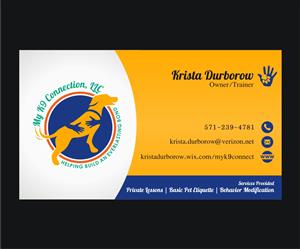 40 playful business card designs dog training business card design business card design by 4ad for my k9 connection llc design 5733612 colourmoves