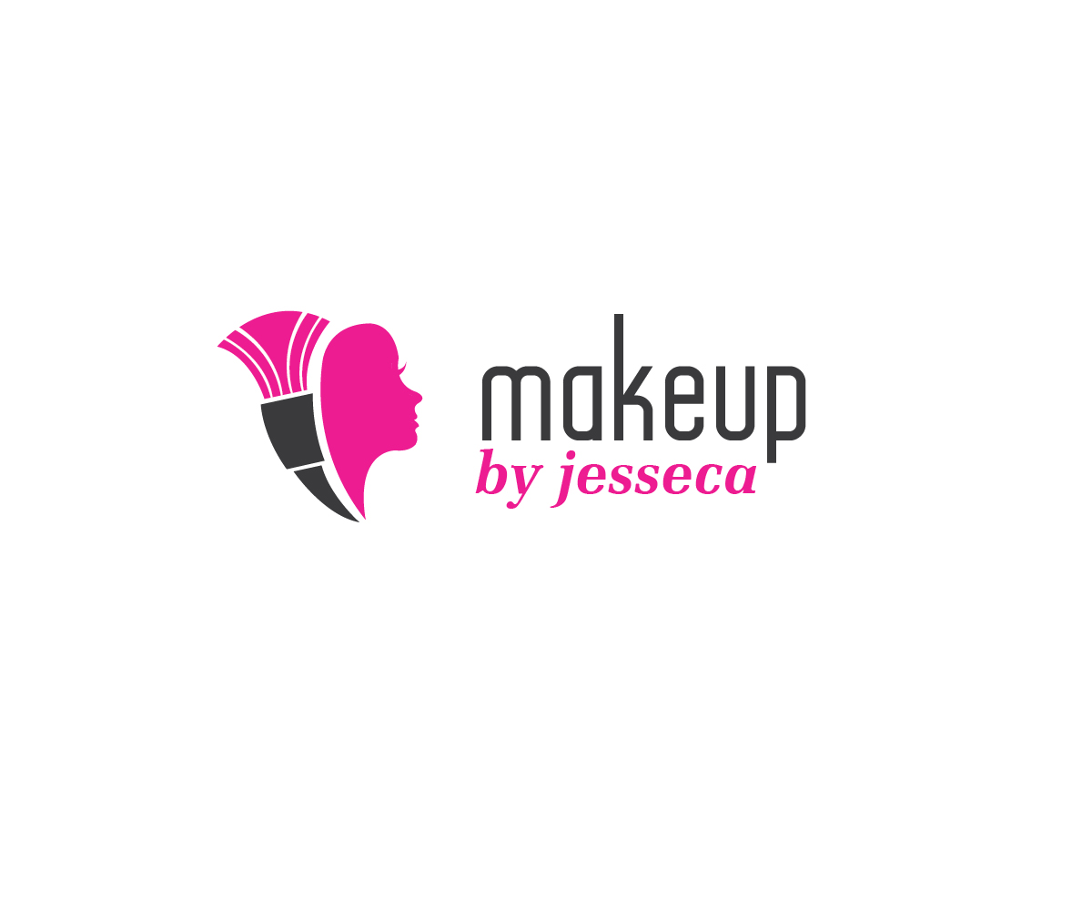 Feminine Upmarket Business Logo Design For Makeup By