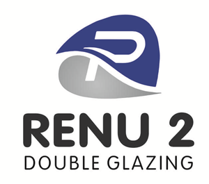 Modern colorful it company logo design for renu2 double for Double glazing companies