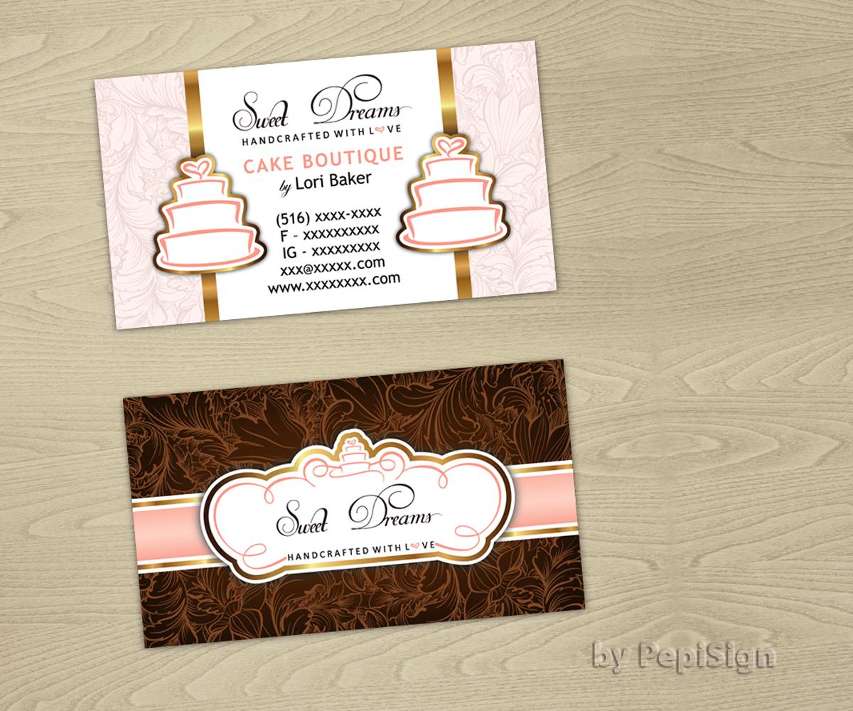 Design De Carte Visite Par PepiSign Pour Sweet Dreams NY