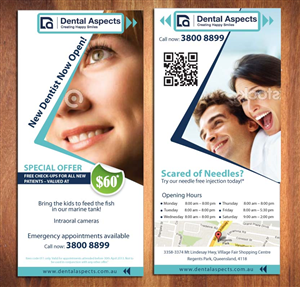 59 Serious Modern Dental Flyer Designs for a Dental business in ...
