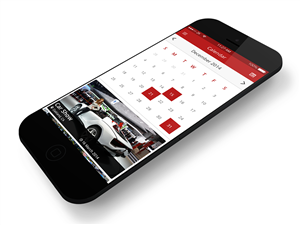 App Design by CreativeWorks - Import Car Event App design needed