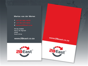 Business Card Design job – Business Cards for 28East – Winning design by DSTOF79
