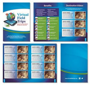 Brochure Design by Kelalo - Virtual Field Trip Business Needs a Brochure Hi ...