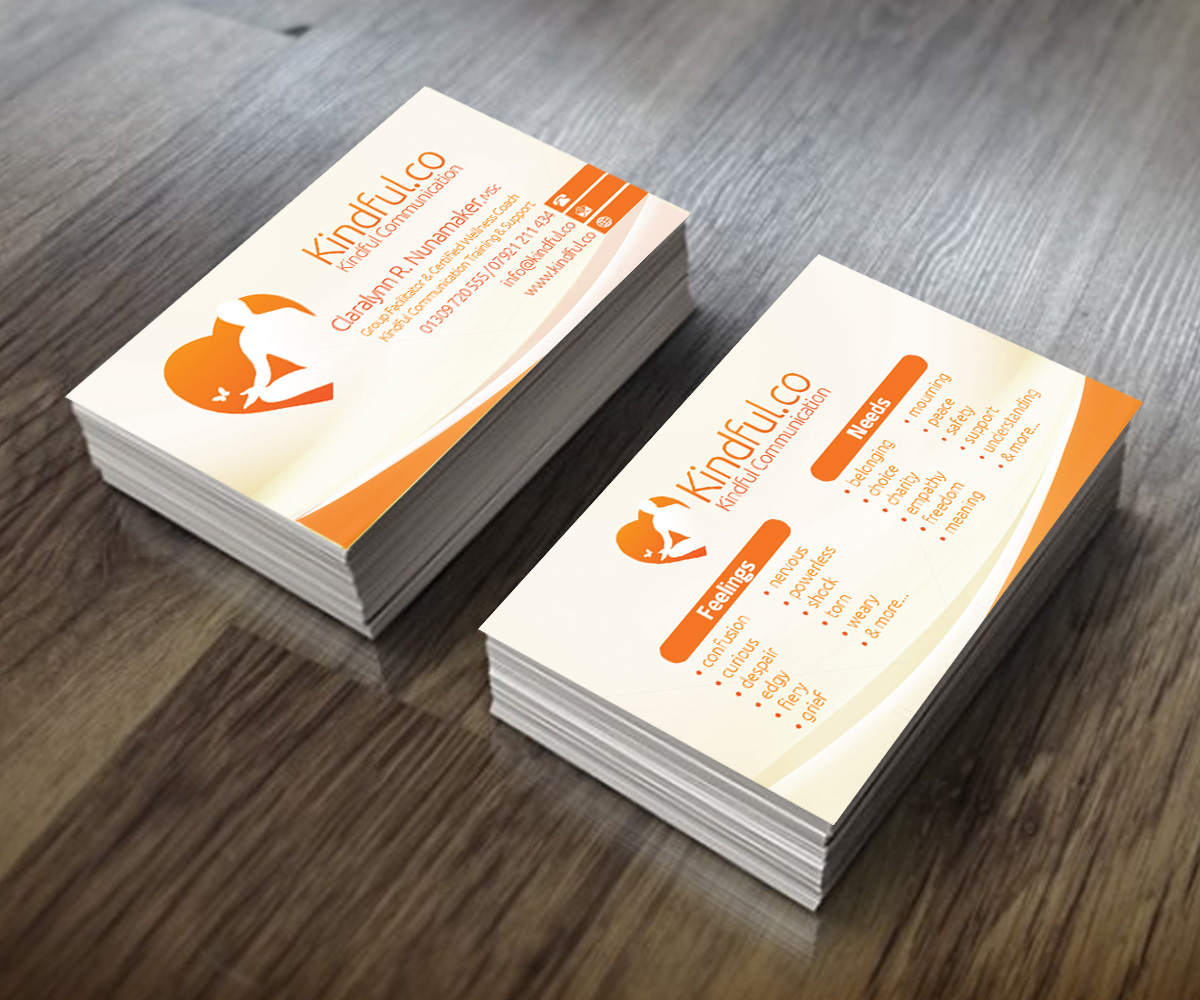 Elegant, Colorful, Training Business Card Design for a Company by ...