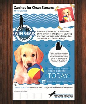 Brochure Design by Designer Destiny - James River Pet Waste Coalition needs dog-centr ...