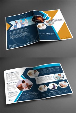 Brochure Design by ESolz Technologies - Informational Chiropractic Brochure