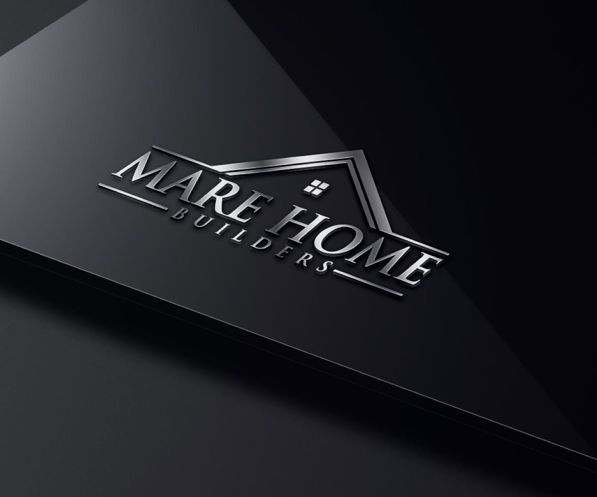 93 elegant playful construction logo designs for mare home for Custom design builders