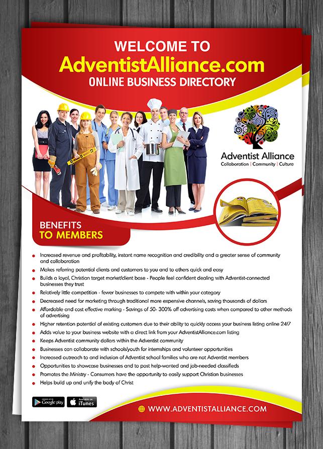 12 elegant flyer designs business directory flyer design project