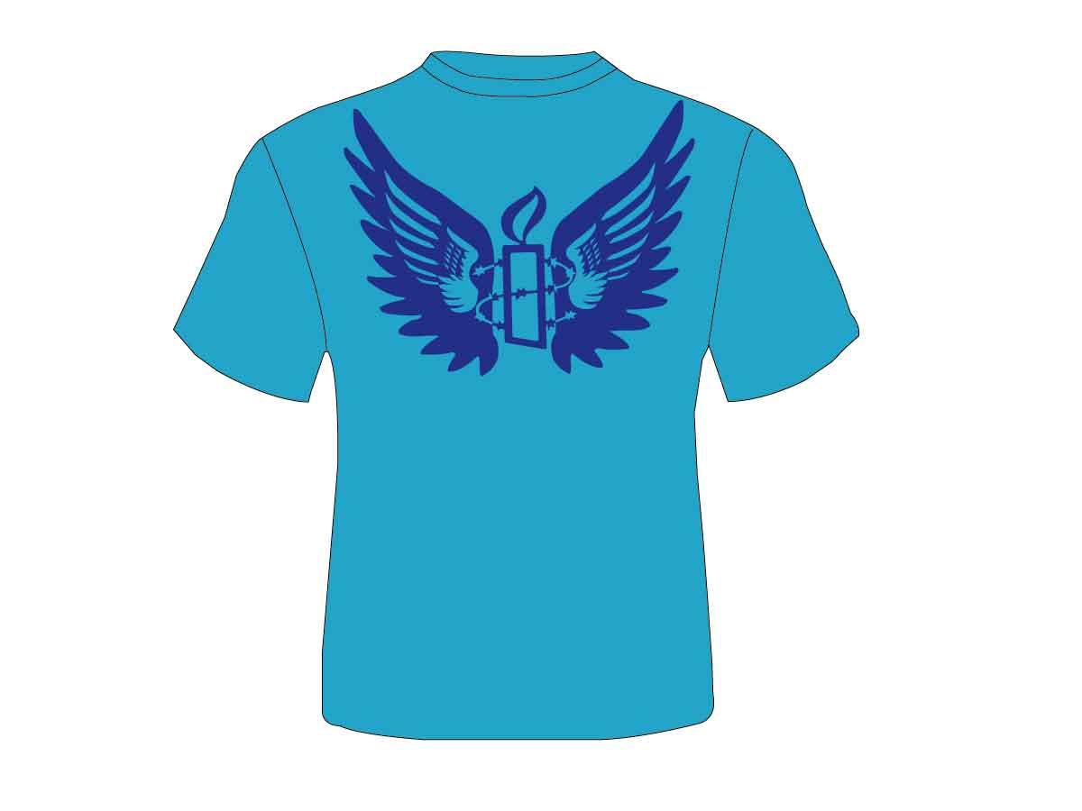 Playful modern t shirt design for amnesty international Design t shirt australia