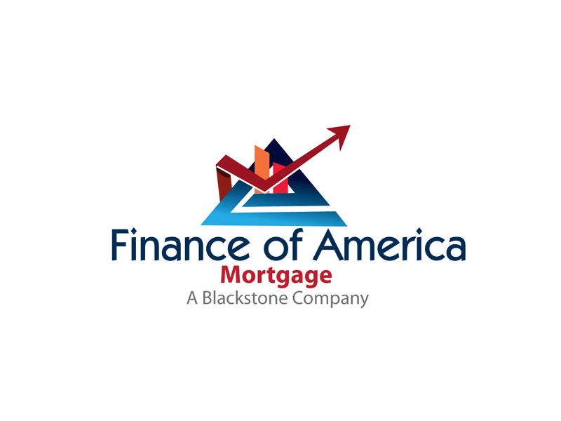 Serious Elegant Financial Logo Design For Finance Of America Mortgage With A Tagline That Says A Blackstone Company By Anushka Snigdha Design 5679606
