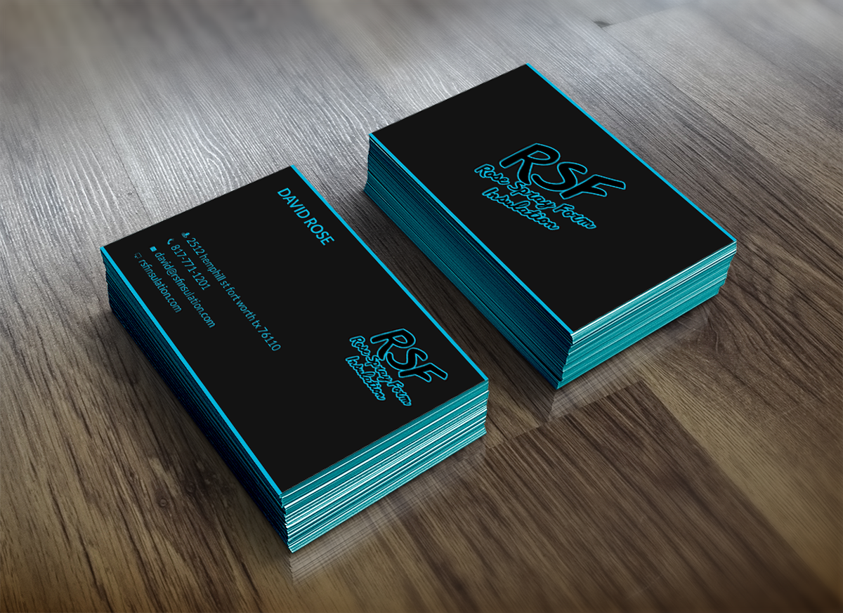 Bold Professional Residential Business Card Design For