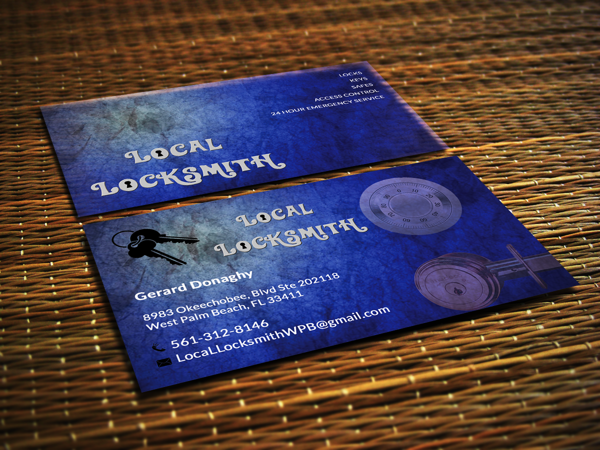 Bold, Professional Business Card Design for Gerard Donaghy by ...