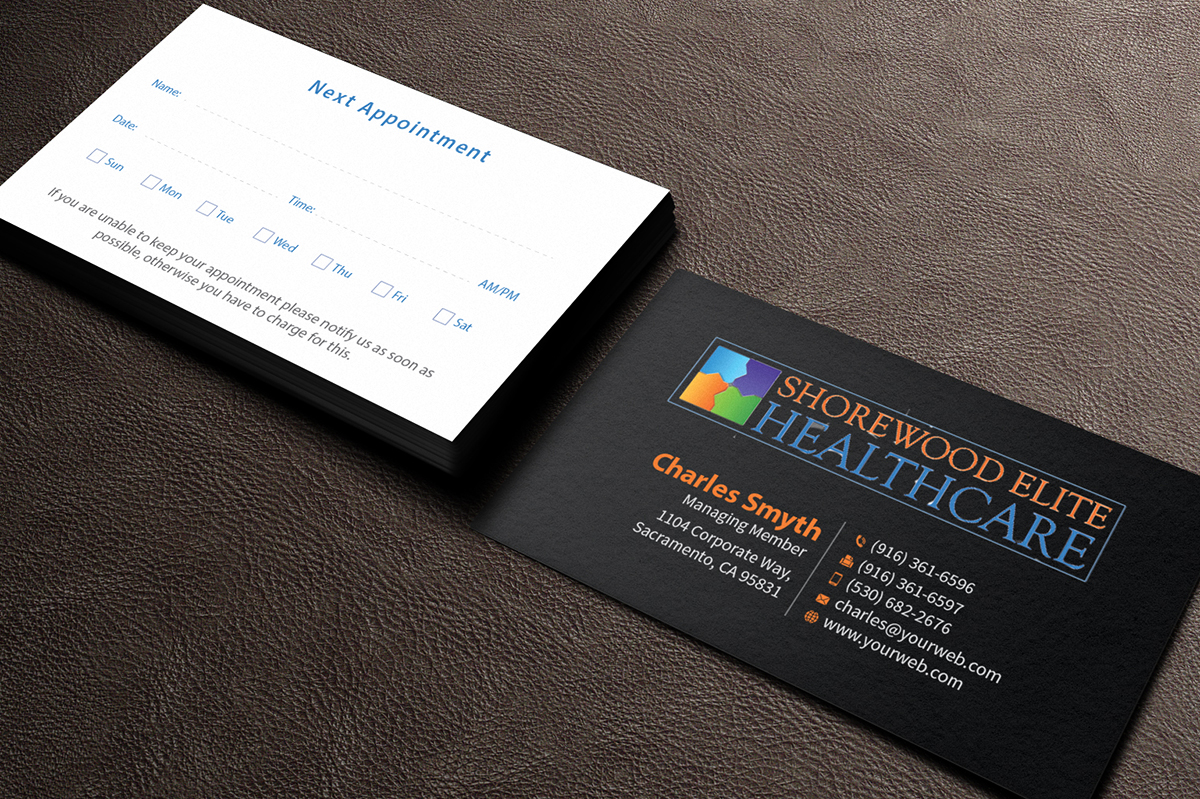 70 Serious Business Card Designs | Medical Business Card Design ...