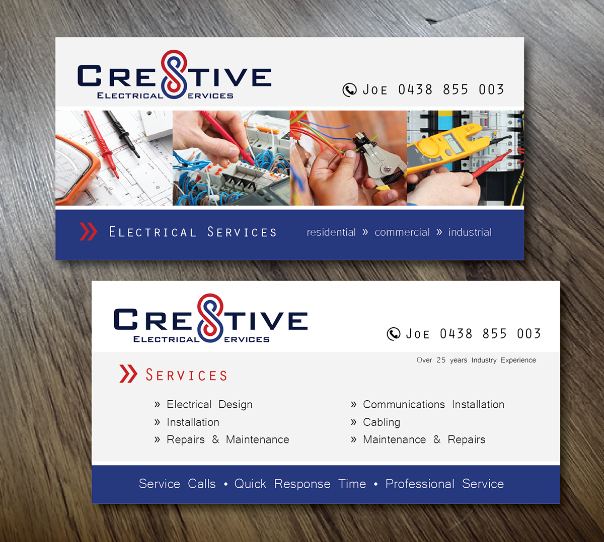 Flyer Design By Alex989 For Cre8tive Electrical Services Needs A