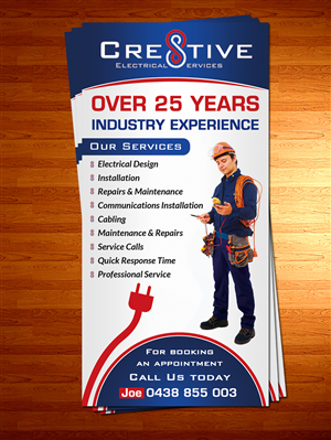 Flyer Design 5697592 Submitted To Cre8tive Electrical Services Needs A