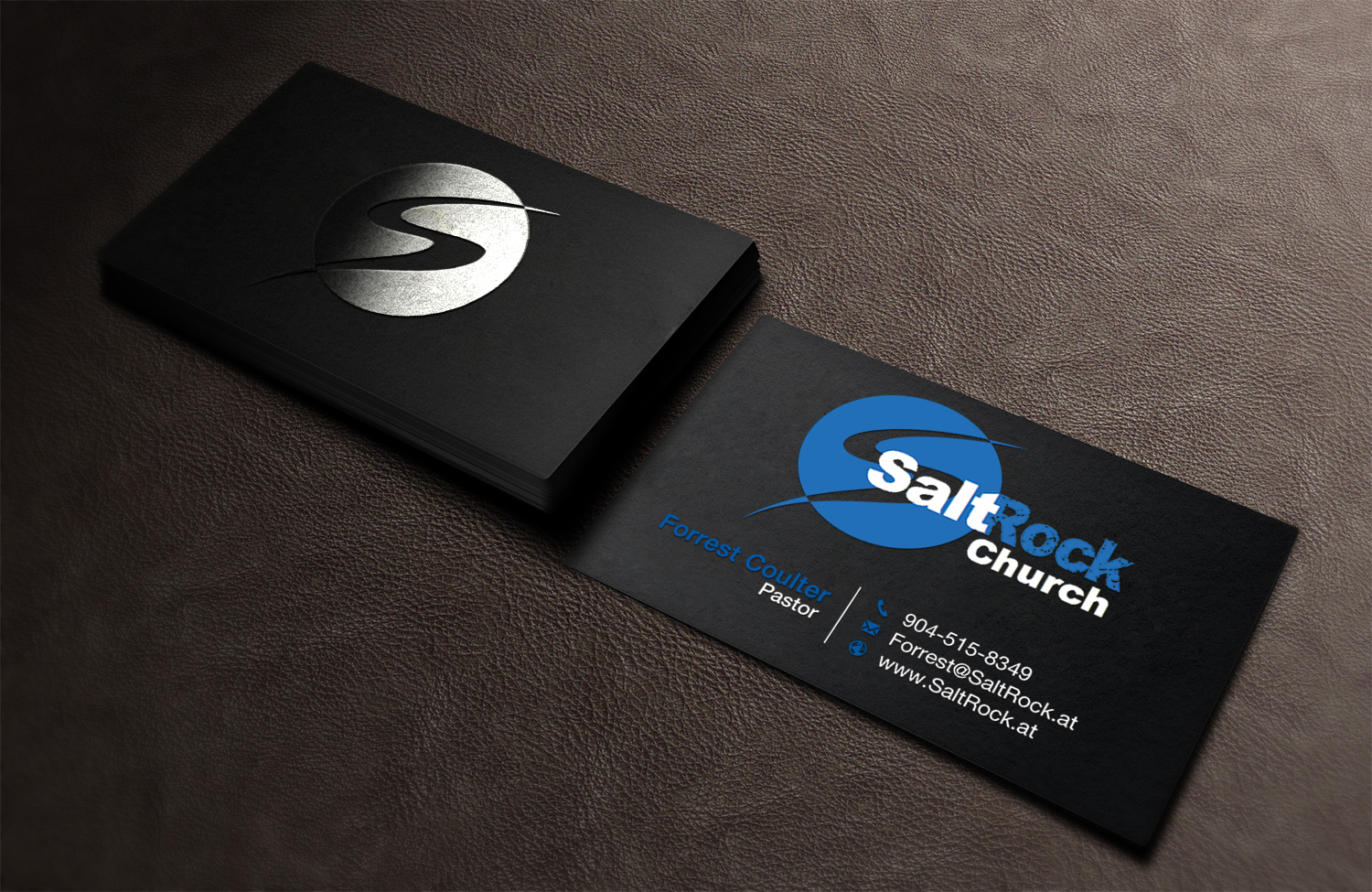Bold, Masculine, High School Business Card Design for a Company by ...