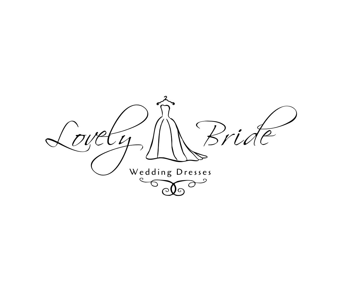 wedding dress logo design masculine professional wedding logo design for wedding