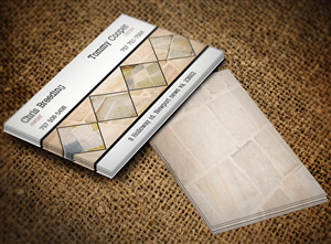 16 Bold Serious Flooring Business Card Designs for a Flooring