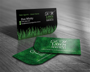 Ordinaire Garden Design Business Cards 19 Modern Bold Business Card Designs For A  Business In Australia