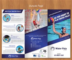 Brochure Design by sun_design - Water Polo Victoria Pathways Brochure